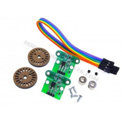 Double speed encoder module