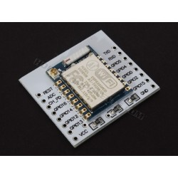 ESP-07 ESP8266 Serial Wifi Module shown here on adapter plate (sold seperately. See HCPROT0087).