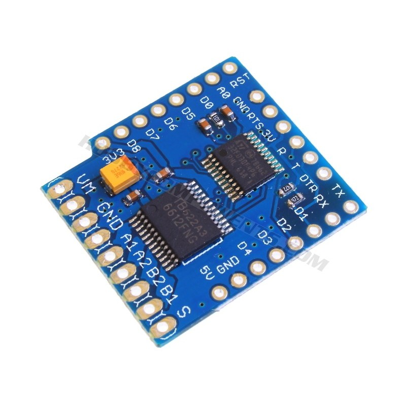 WeMos D1 Mini Motor Drive Shield