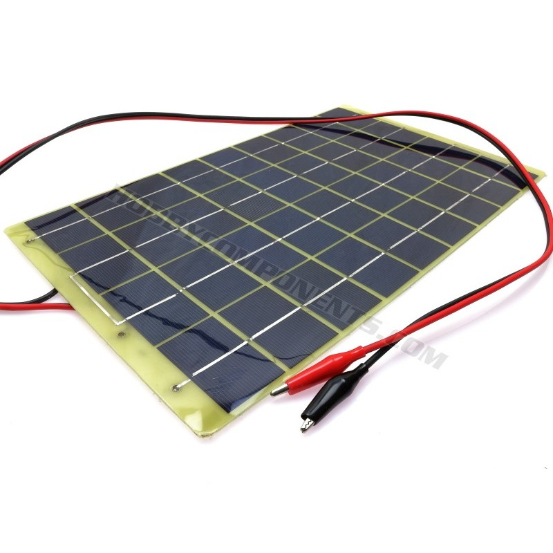10W 12V Epoxy Resin Poly Solar Panel