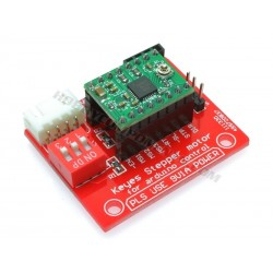 Breakout board for A4988 Stepper Motor Driver shown here with optional A4988 Driver module