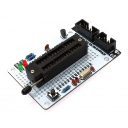 ZIF programming option (components require soldering)