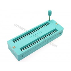 Green 40 Pin ZIF Socket