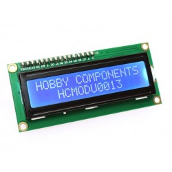 16 x 2 Character Transmissive Parallel LCD Module (blue backlight)