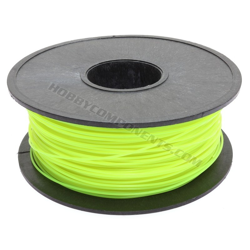 PLA Filament for 3D Printing 1.75mm Florescent Yellow