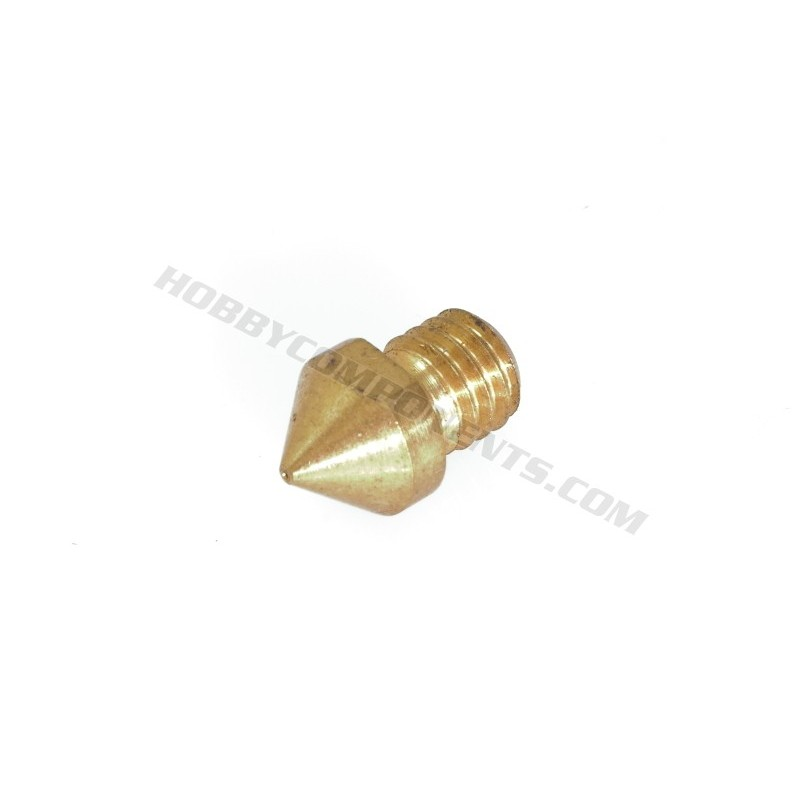 Brass 3D printer nozzle 1.75mm / 0.4mm aperture