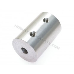 5mm to 12mm aluminum coupler