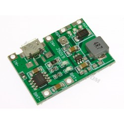 LiPo charging with step up boost converter module