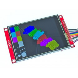 3.2 inch Colour TFT Module with Resistive Touch