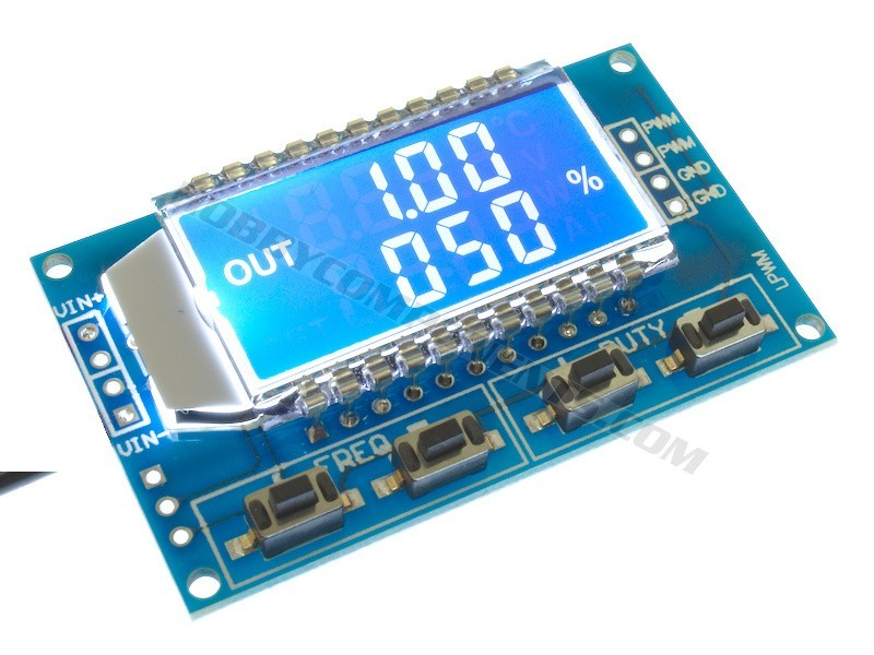 1Hz to 150KHz PWM Frequency Generator Module - Hobby