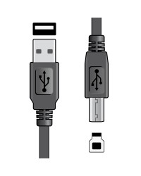 USB 2.0 Type A Plug to Type...