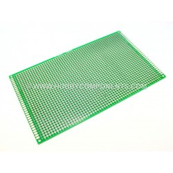 Double-Sided Glass Fiber Prototyping PCB Universal Board (9 x 15cm)