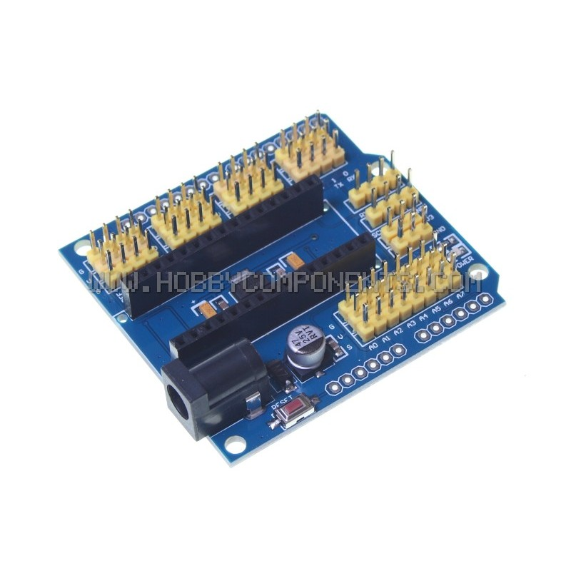 Arduino compatible Nano Uno multi-purpose expansion board