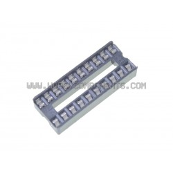 0.3 Inch DIL IC Socket 20 Pin (Pack of 5)