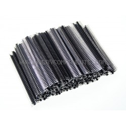 Single Row 40-Pin 2.54mm Pitch Pin Headers (Pack of 200)
