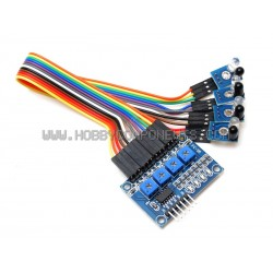 4 Channel Trace Module - An excellent add-on for our Robot Car Kits
