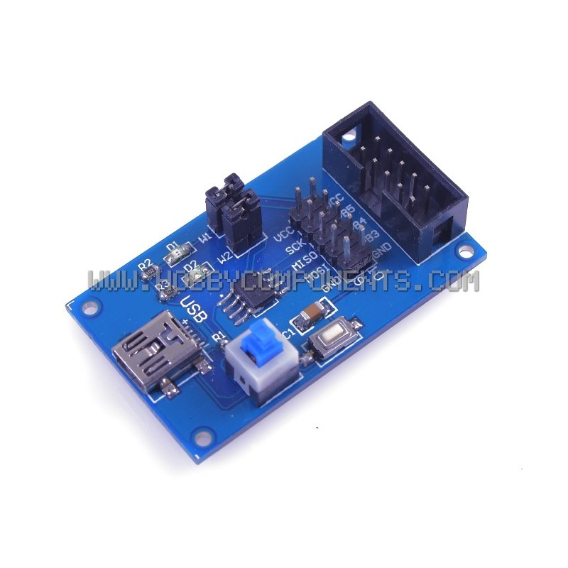 ATtiny13 AVR Development Board