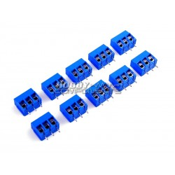 Pack of 10 - 3 Pin 5.0mm...