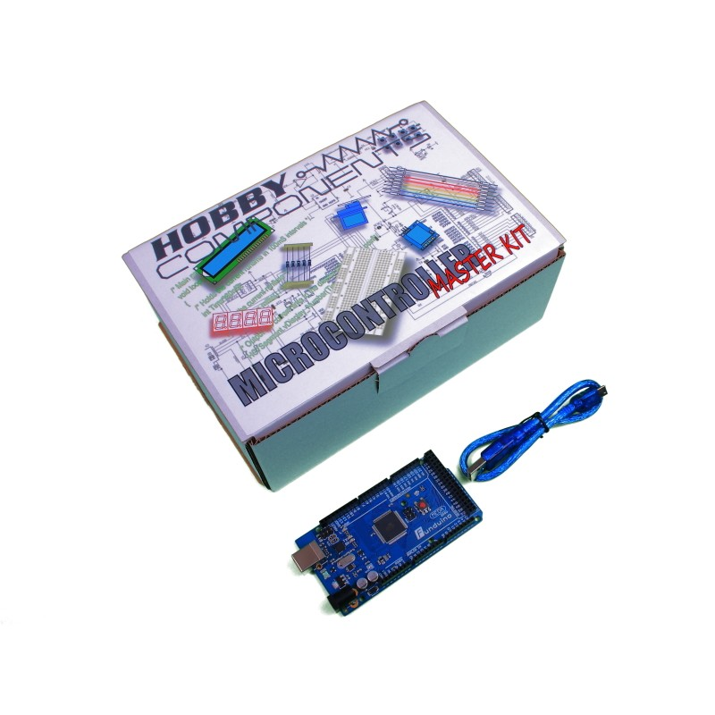 Hobby Components Master Experimenter's Kit with Arduino compatible Mega (R3)