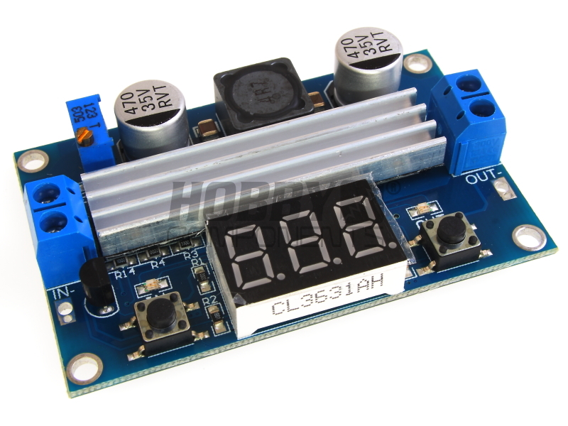 Convertitore STEP UP 6A 100W LTC1871 regolabile DC-DC Elevatore tensione display