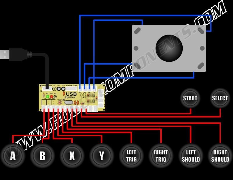 Arcade Button Wiring Diagram